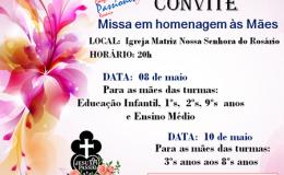 Missa em Homenagem às mães!