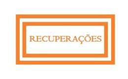 CALEND�RIO DE RECUPERA��ES